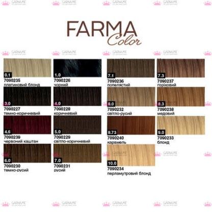 Крем-фарба для волосся 1