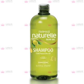Шампунь для сухого волосся оливка